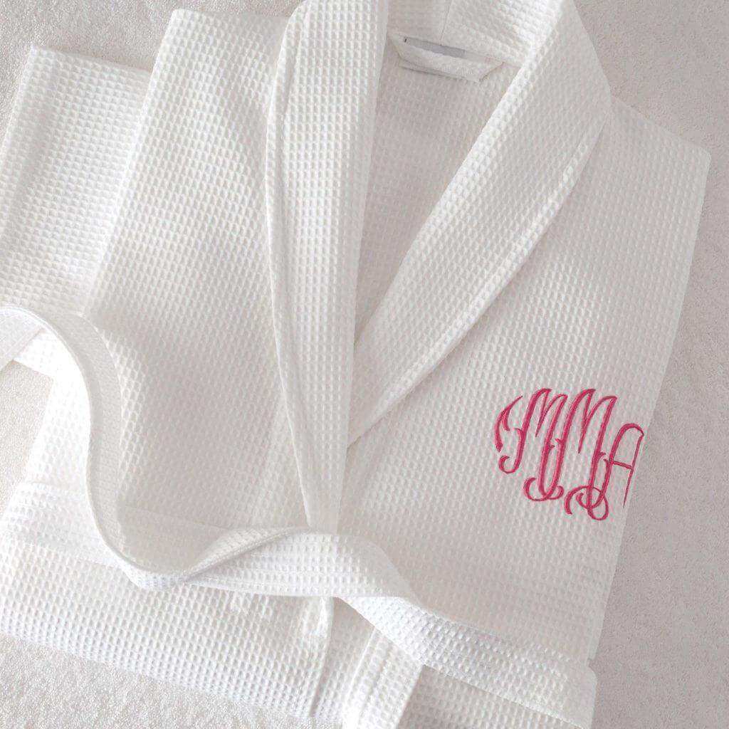Халаты с нанесением логотипа