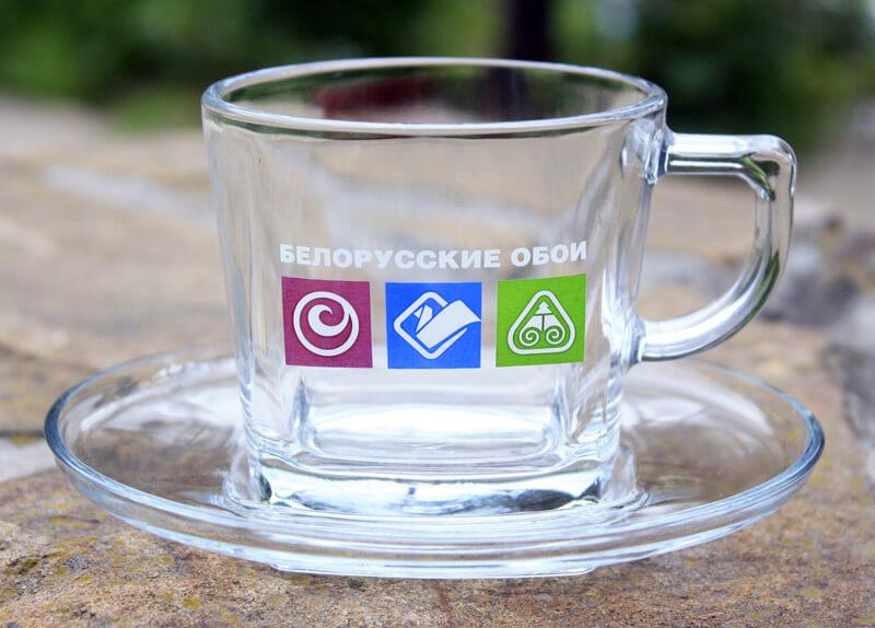 Посуда с нанесением логотипа
