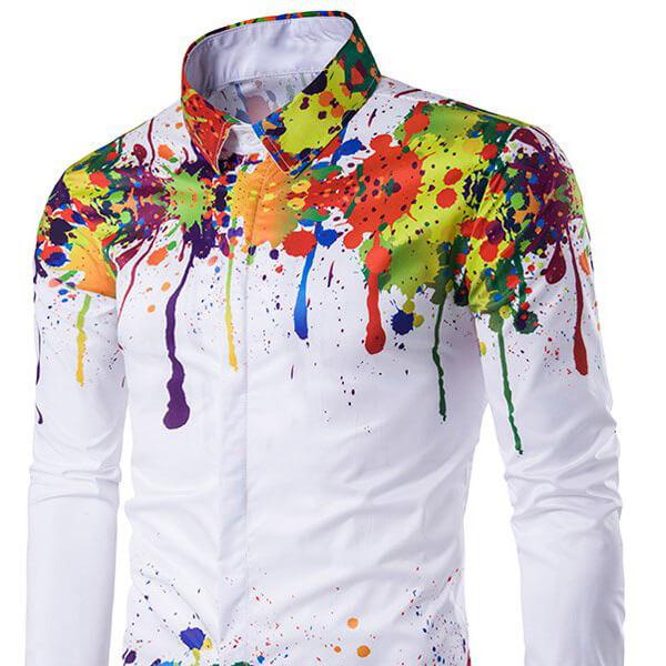 Рубашки классические с нанесением логотипа