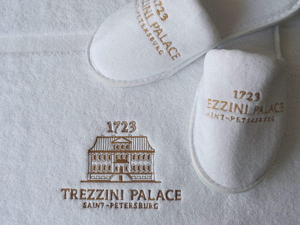 Тапочки с нанесением логотипа