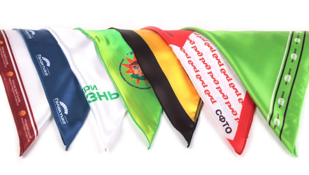 Платки и банданы с нанесением логотипа