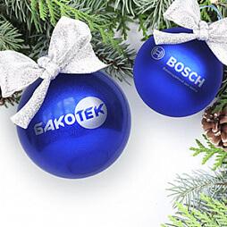 Новогодние сувениры с нанесением логотипа
