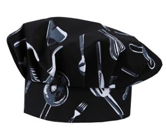 Поварские колпаки с нанесением логотипа