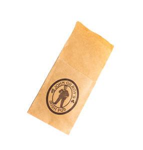 Конверты для столовых приборов с нанесением логотипа
