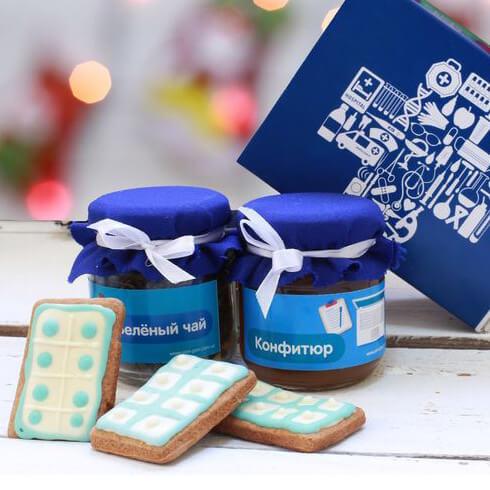 Вкусные подарки с нанесением логотипа