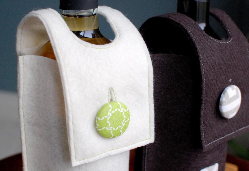 Изделия из фетра из войлока с нанесением логотипа